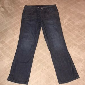 Calvin Klein lean bootcut dark week jeans size 14